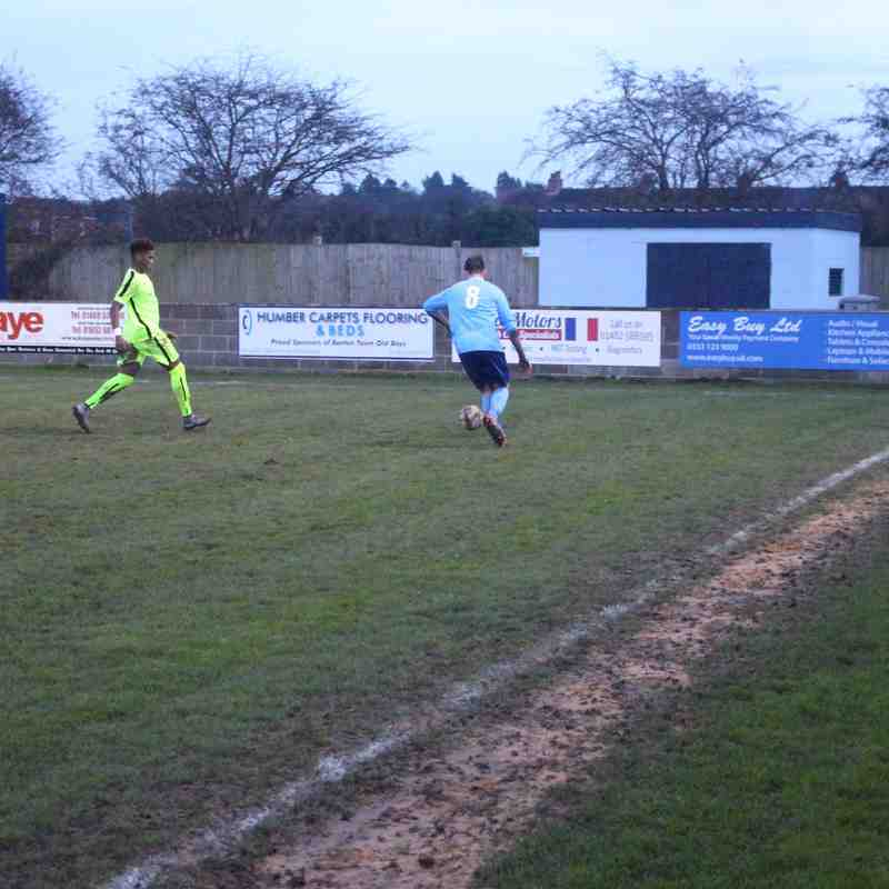 Barton Town Old Boys FC vs Thackley AFC | Saturday 19th November | NCEL Premier Division