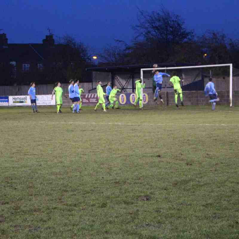 Barton Town Old Boys FC vs Thackley AFC | Saturday 19th November | NCEL Premier Division