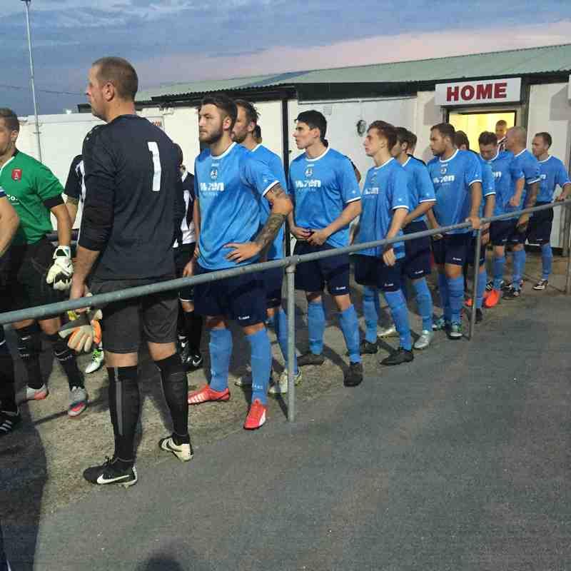 First Team v Clipstone FC - Tue 13 Sep 2016