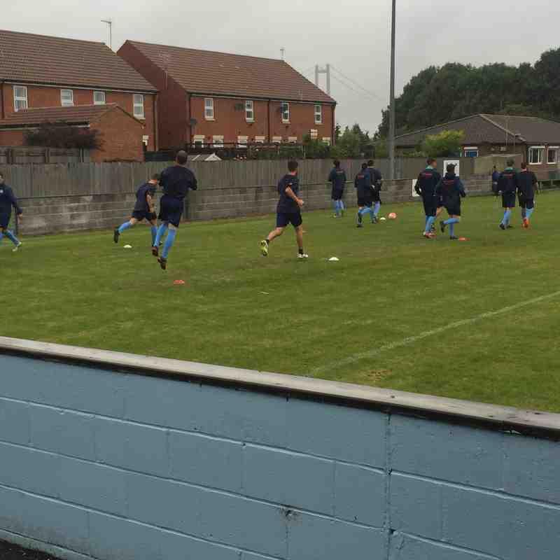 First Team v Liversedge FC - Sat  3 Sep 2016