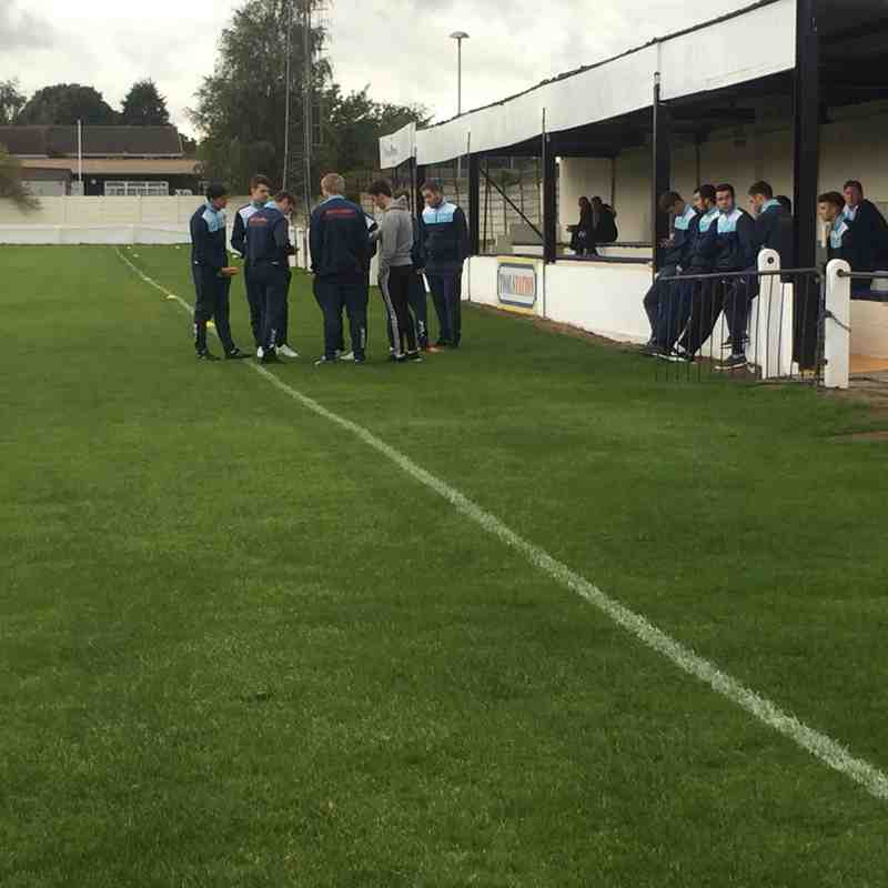 First Team v Armthorpe Welfare - Sat  8 Oct 2016