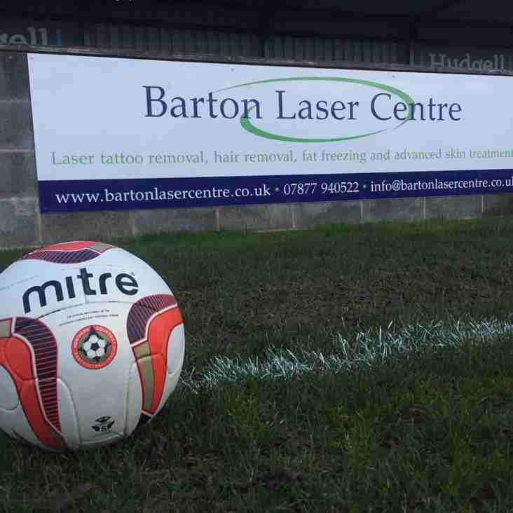 Club News | Barton Town Old Boys FC Sponsor Of The Week! | 5th December - 9th December
