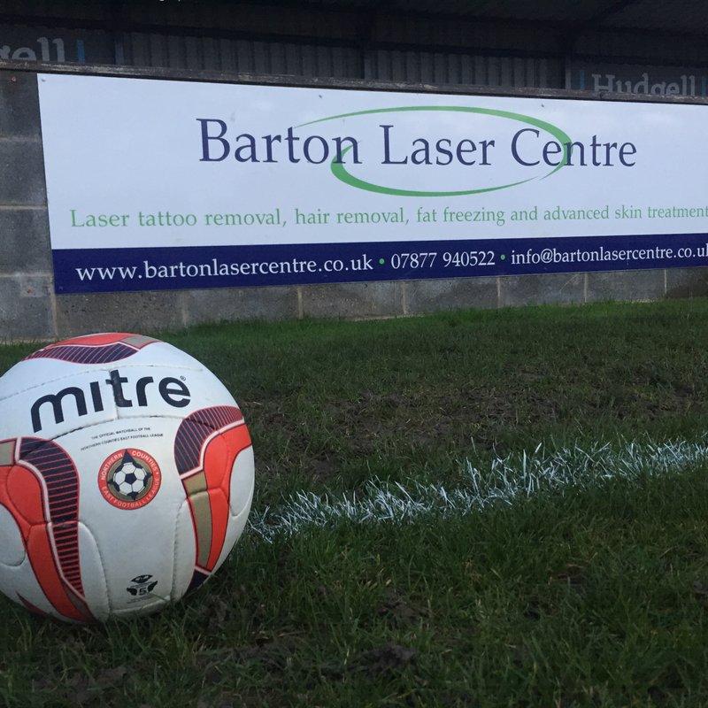 Club News | Barton Town Old Boys FC Sponsor Of The Week! | 5th December - 9th December