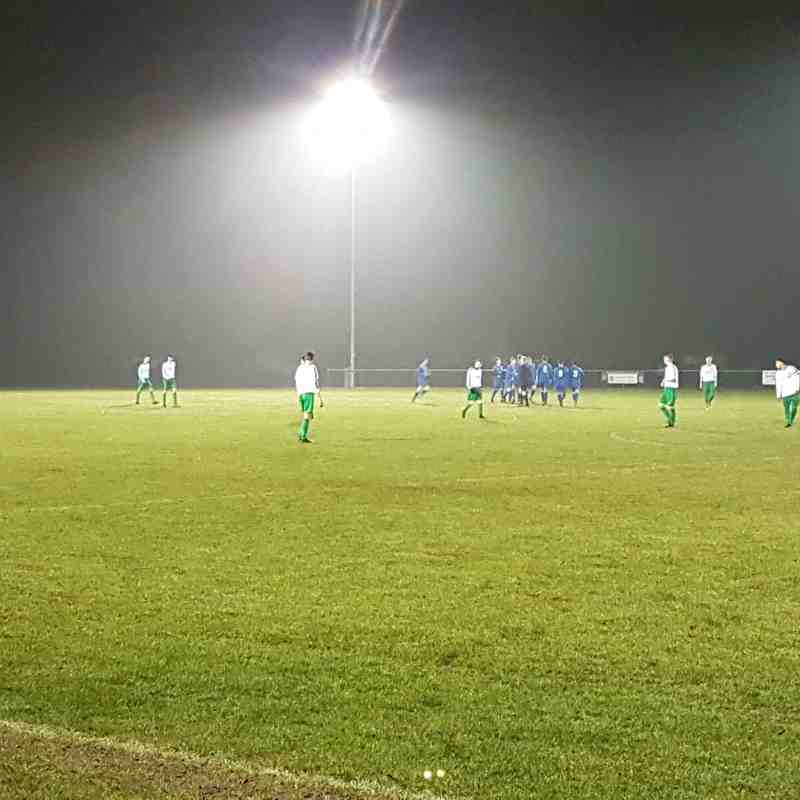 Pockington Town vs. Barton Under 19s | Tuesday 13th December