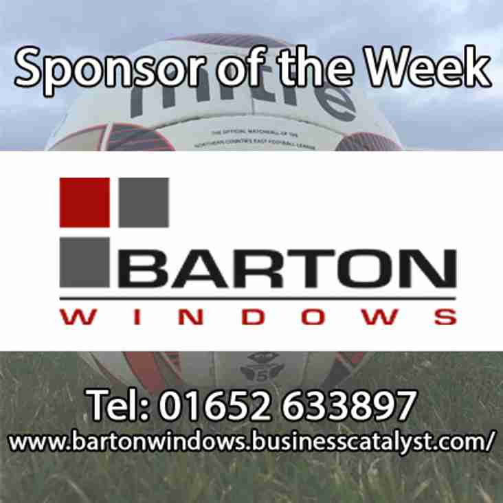 Club News | Barton Town Old Boys FC Sponsor Of The Week! | 26th December - 30rd December