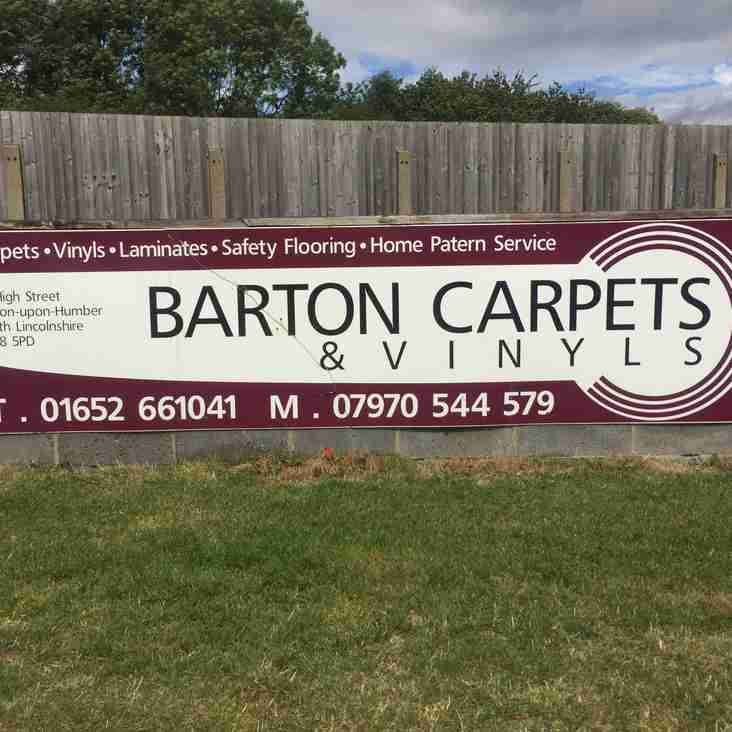 Club News | Barton Town Old Boys FC Sponsor Of The Week! | 6th - 10th January