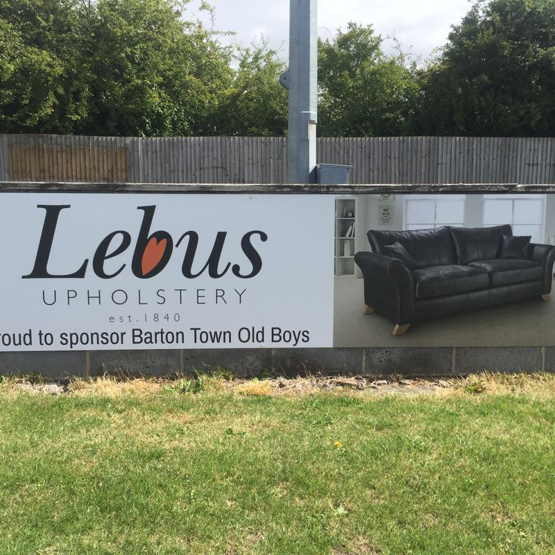 Club News | Barton Town Old Boys FC Sponsor Of The Week! | 13th - 17th February
