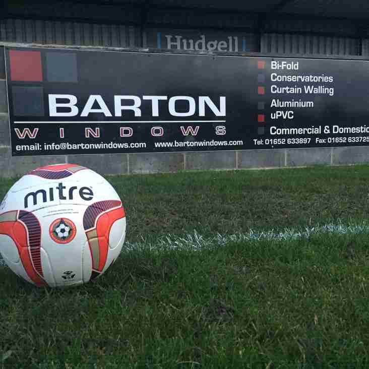 Club News | Barton Town Old Boys FC Sponsor Of The Week! | 20th - 24th March