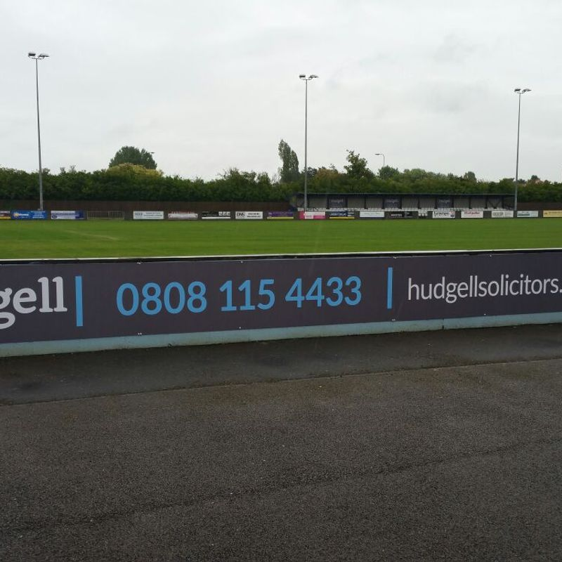 Club News | Major Stand Sponsor Renewal - Hudgell Solicitors!
