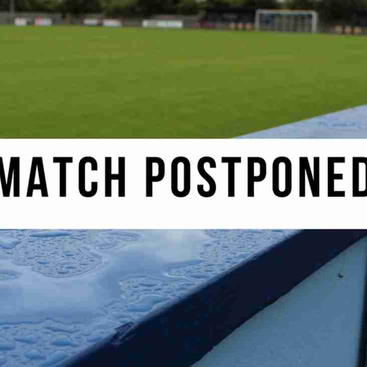 Match Postponed | Barton Town FC vs AFC Mansfield