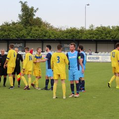 Barton Town Old Boys FC vs. Hall Road Rangers   Saturday 2nd September 2017   NCEL Premier Division