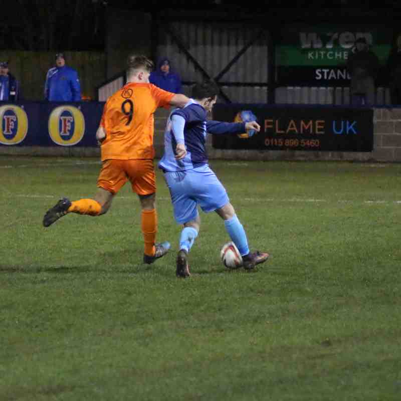 Barton Town vs. Staveley Miners Welfare | Tuesday 28th November | NCEL Premier Division