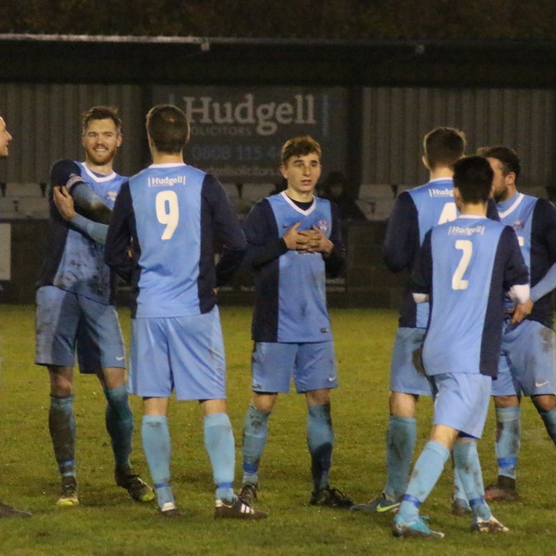 First Team beat Tadcaster Albion 1 - 2