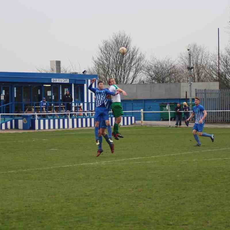 Staveley Miners Welfare vs. Barton Town | Saturday 7th April 2018 | NCEL Premier Division