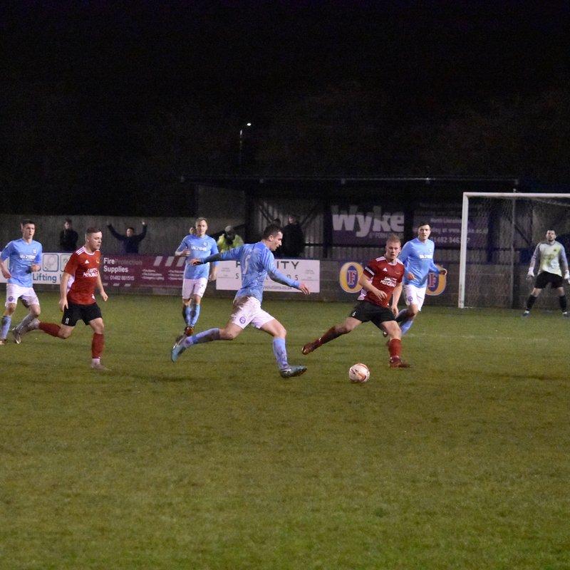 Barton Town FC vs. Knaresborough Town | Saturday 8th December 2018 | NCEL Premier Division