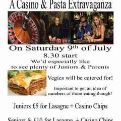 This Saturday: Casino and Pasta Night