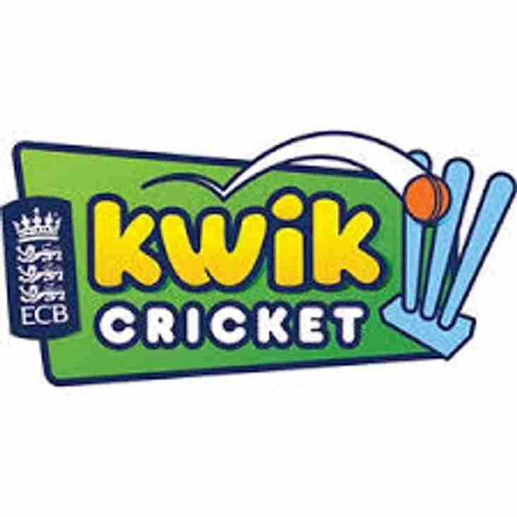 Vale Kwik Cricket Festival - 13th May, 10am-12