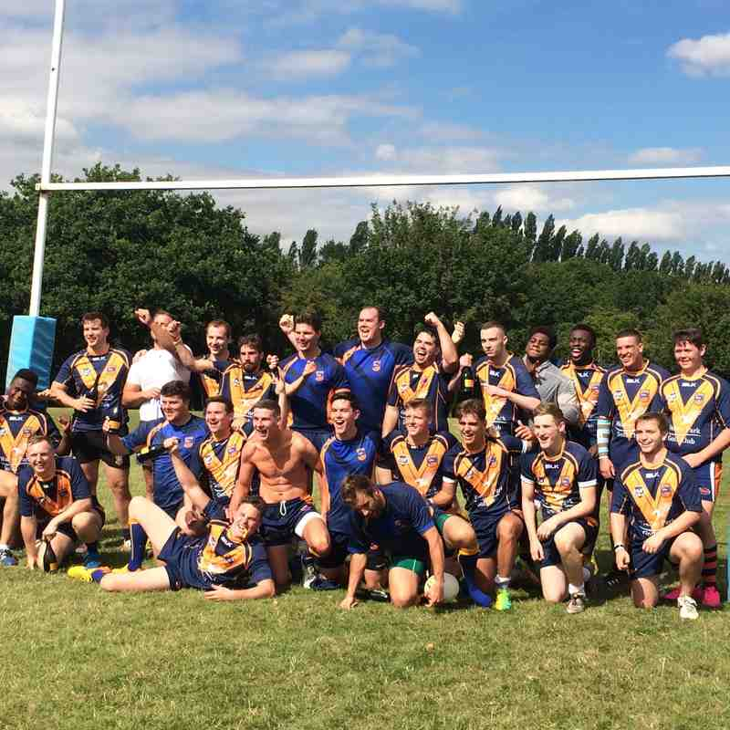 Brentwood Eels V Cambridge Lions  1st Aug 2015