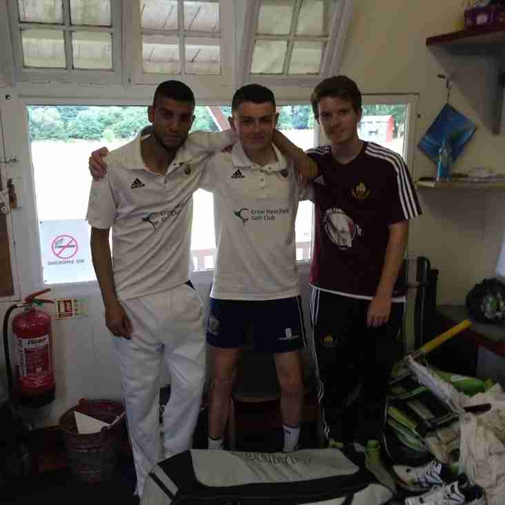 Jake and Alex lead 2nds to famous victory on unforgettable day