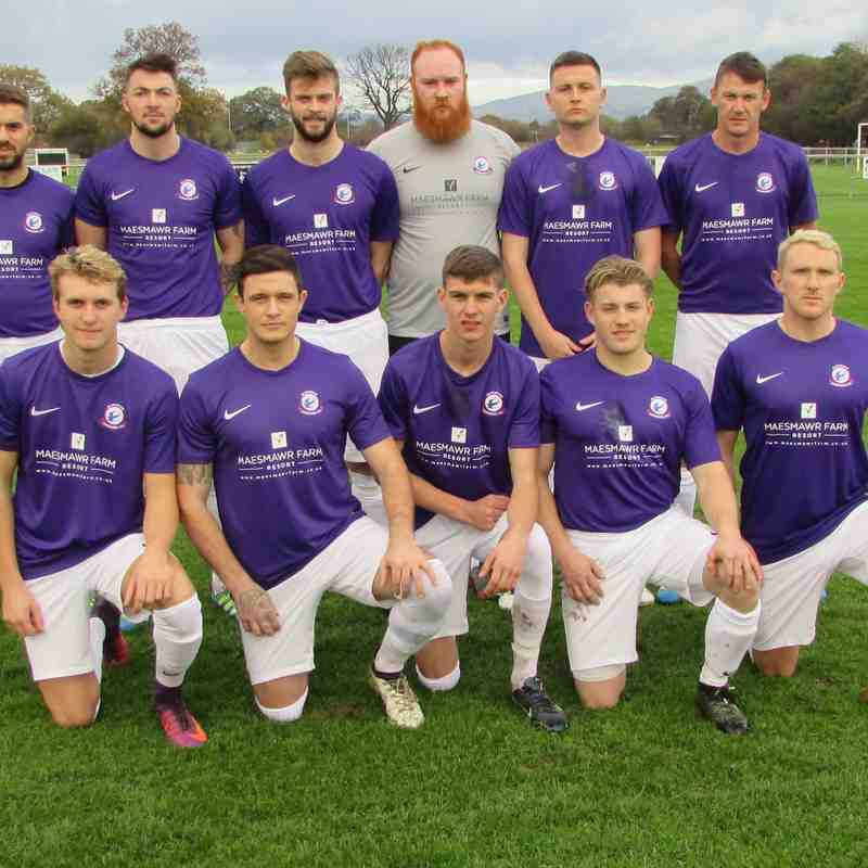 Back Row J Parr,E Jones,R Davies,C Hawthorne,R Davies,G Jones Front Row C Harris,L Sherbon,P Jones,L Jones,S Blenkinsop