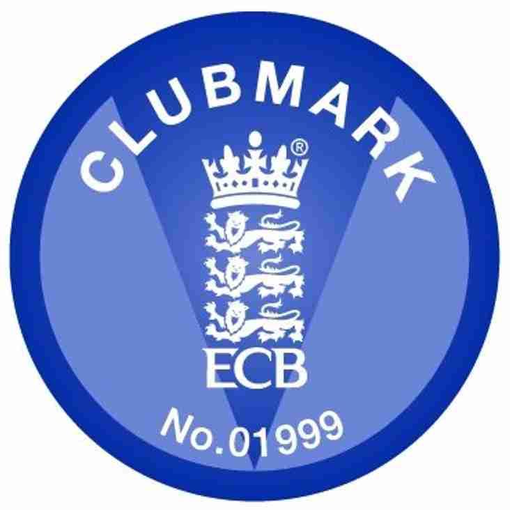 Hambrook Cricket Club achieves ClubMark Status