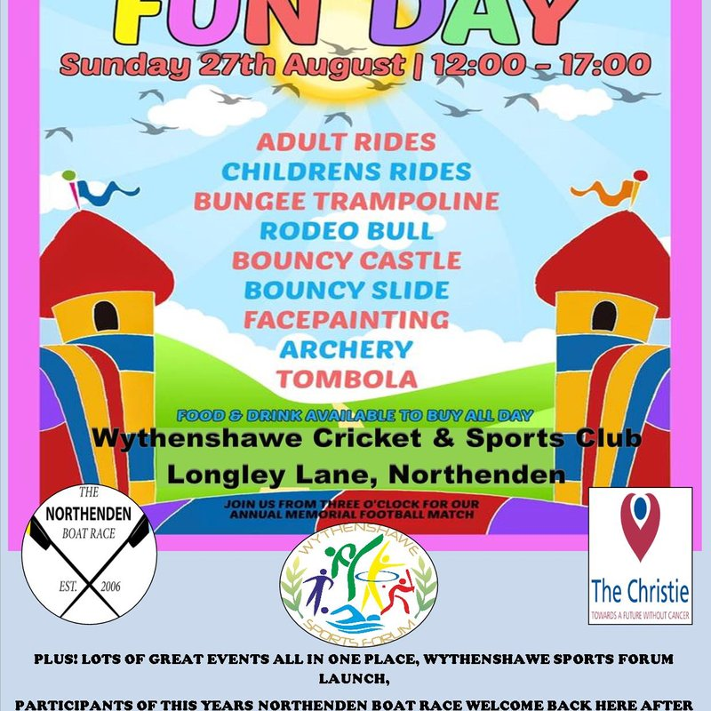 BAFC FAMILY FUNDAY & MEMORIAL CUP MATCH..PLUS MUCH MORE!!!