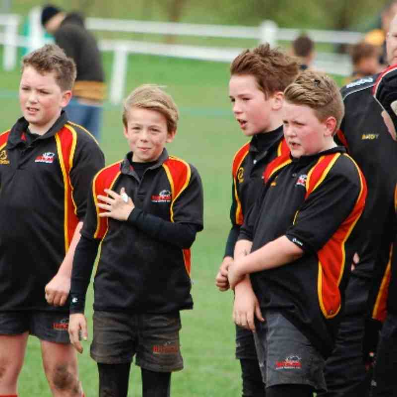 Rhinos U11s at North Mids Festival April 2014