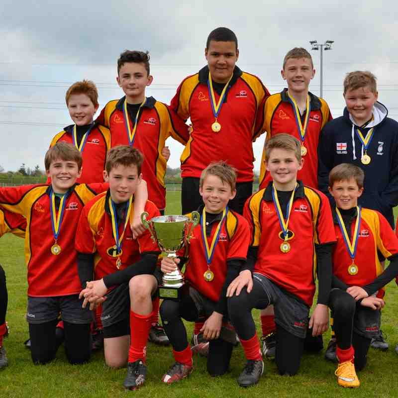 Rhinos U12s at Worcester Tournament April 2015