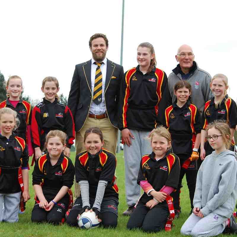 Rhinos girls at Kenilworth Festival April 2015