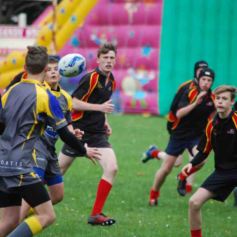 U14s at Abergavenny Festival April 2017