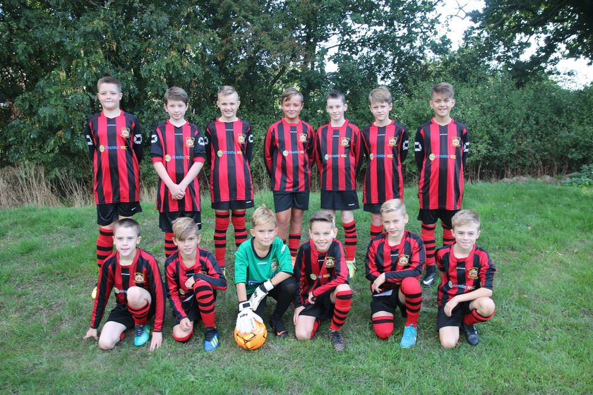 Under 11 Juniors beat Claverdon FC