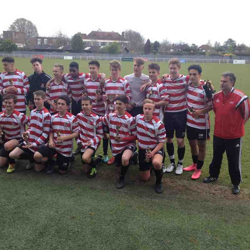 Under 18s win Invitation Cup 2016