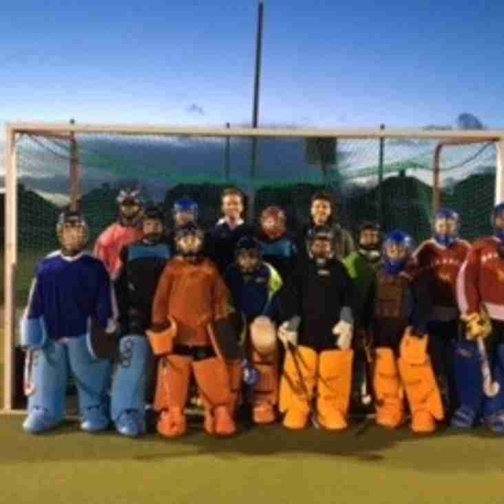 Junior Goal Keeper training