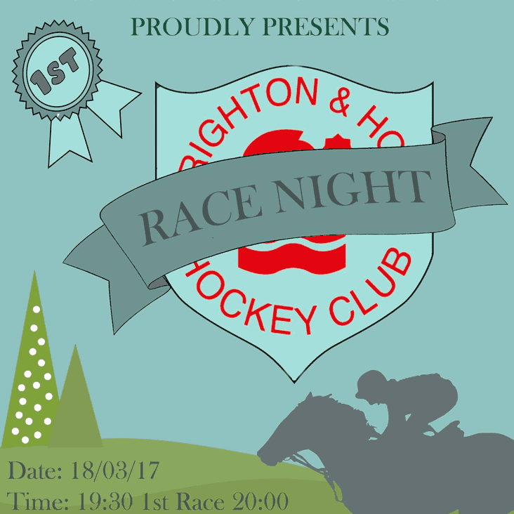 BHHC Race Night Fundraiser 18th March at the Clubhouse