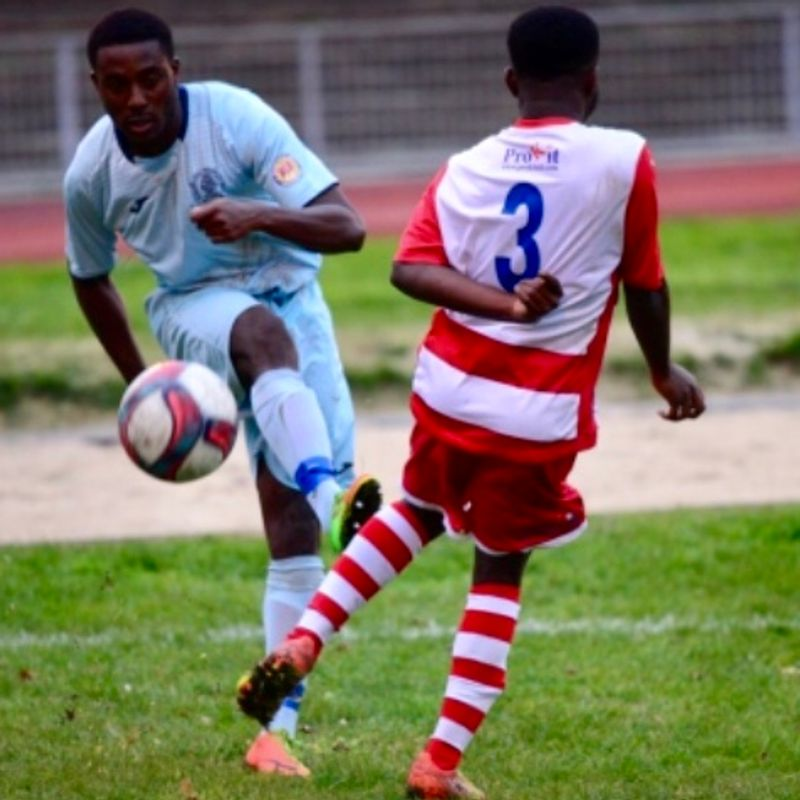 Barkingside FC  1  Ilford FC  5