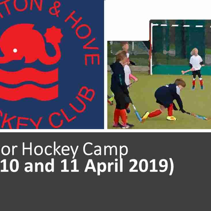 Easter 2019 Hockey Camp for Juniors