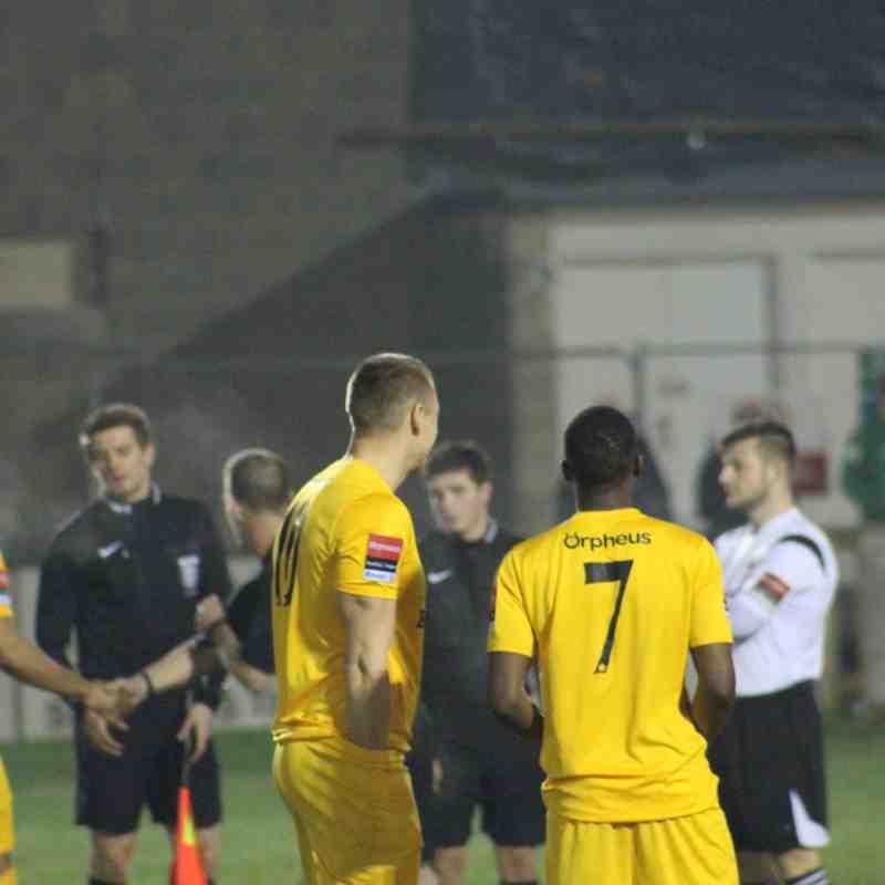 Faversham Town Vs Whyteleafe FC (7.2.17)