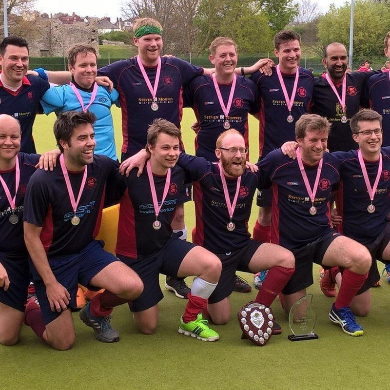 Mens 3s Playoff game and Cup Final team pictures