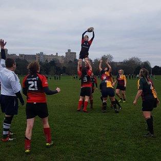 London Welsh Women match report - Windsor Dames Away, 5/01/19