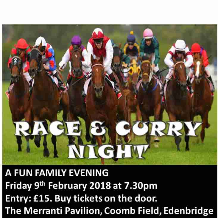 ERFC Race & Curry Night