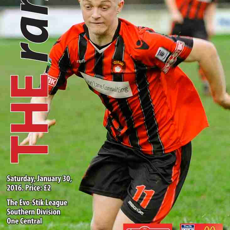 Download the Hanwell Town programme here