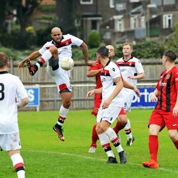 Battling Petersfield Town hold Winchester City to a draw