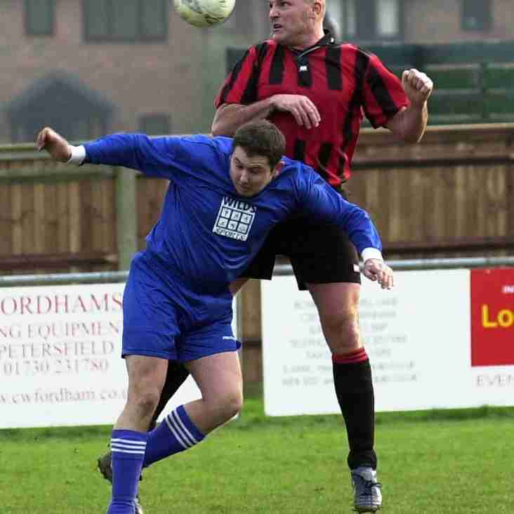 Petersfield Town start remembrance period with tribute to club's fallen hero Darren Chant