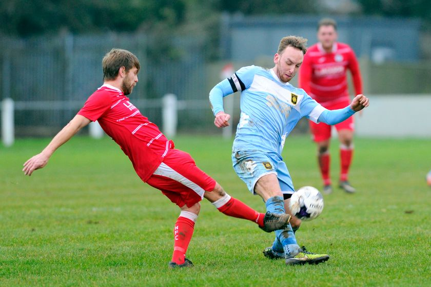 Rams give Horndean a second half scare in derby defeat
