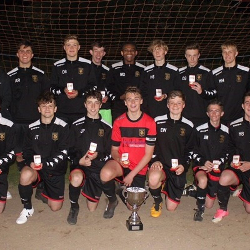 Young Rams side brings home the silverware