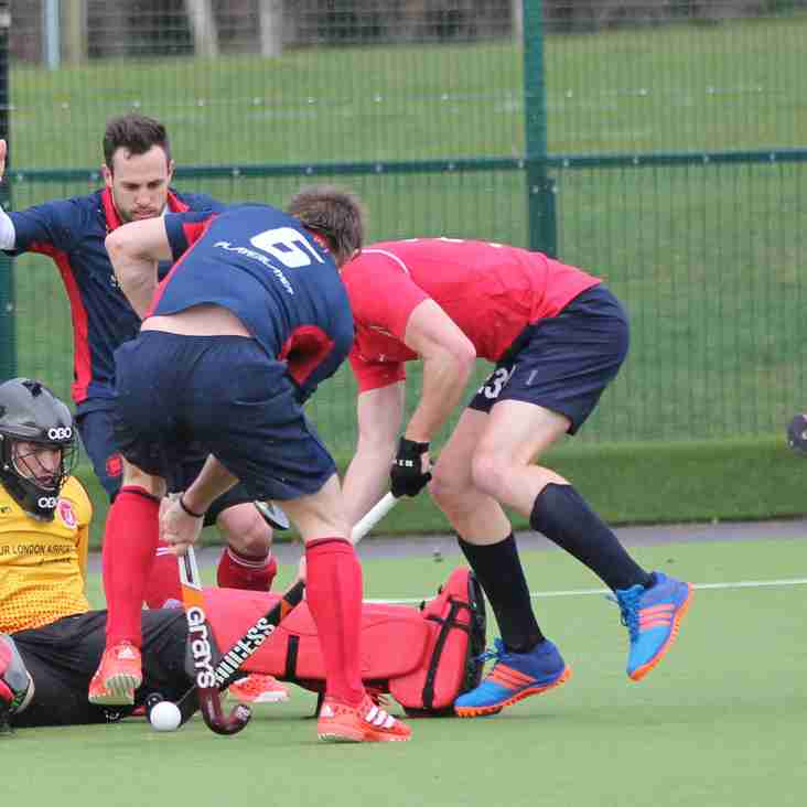 Men's 1s @ Blatch 5pm Saturday 23rd September 2017