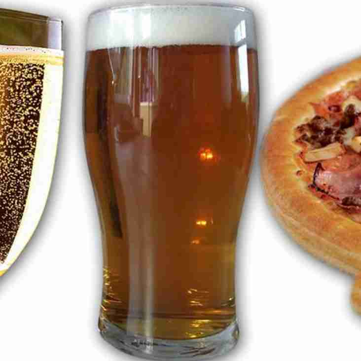 Pints, Pizza and Prosecco Social 30th September