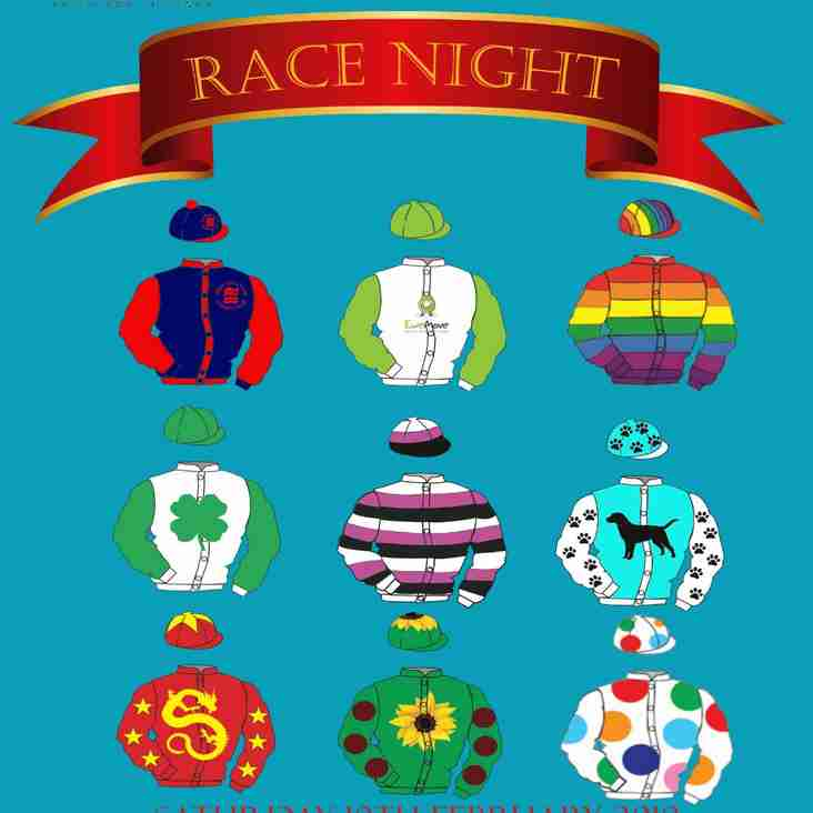 BHHC Race Night Fundraiser 10th February sponsored by EweMove Sales and Lettings