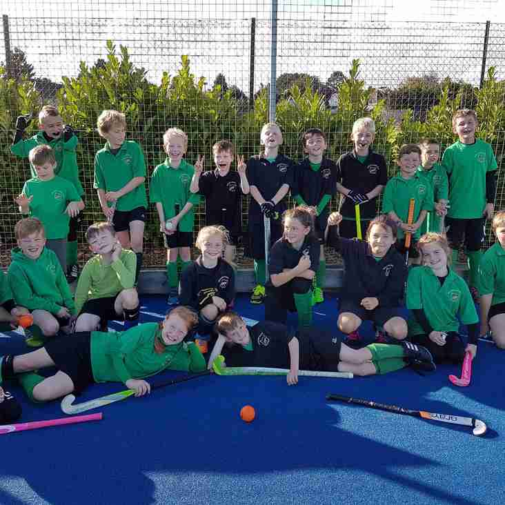 U10 Boys & Girls at Regional Finals on Sunday 7th May 2017