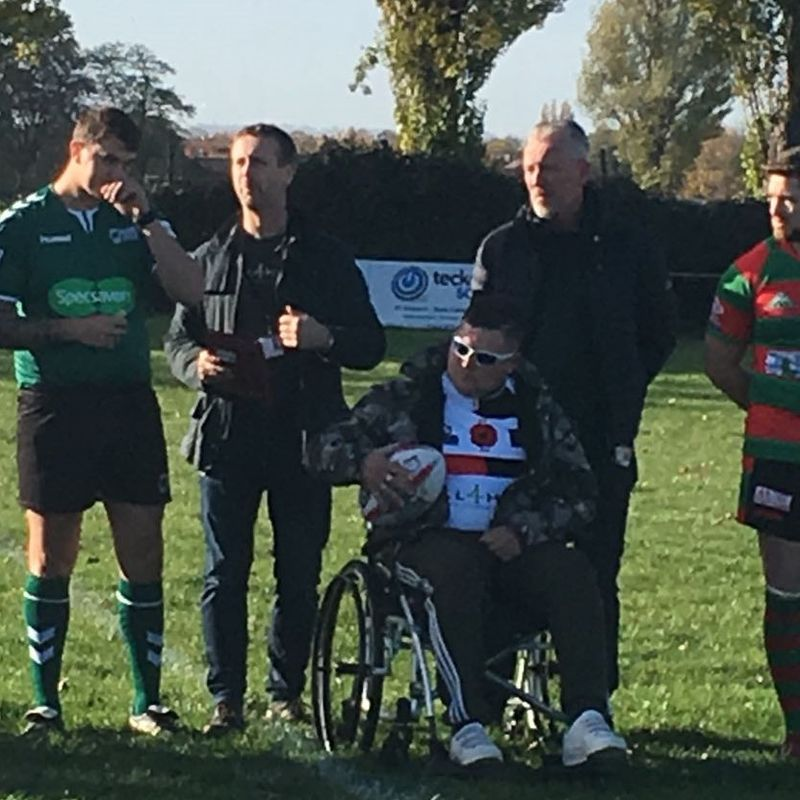 Warriors lose out in Remembrance Fixture....
